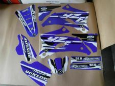 New YZF 250 450 06 07 PTS4 Graphics Sticker Decals Kit Motocross YZF250 YZF450